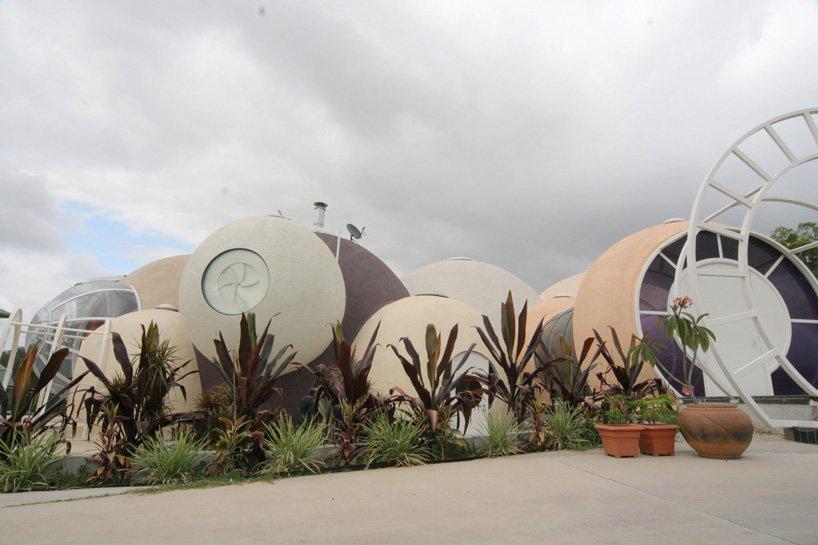 maison bulle en béton unique en son genre en Australie est actuellement à vendre