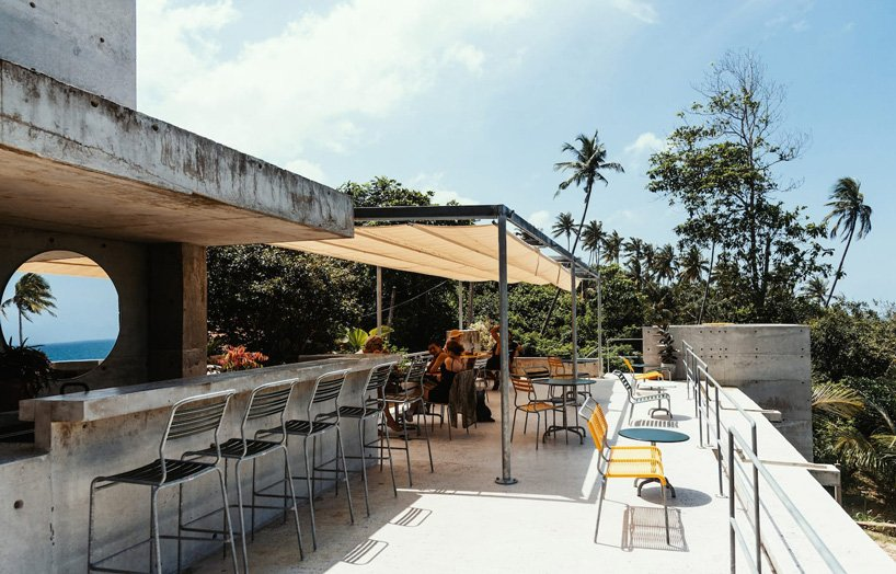 Le modernisme tropical définit le boutique hôtel `` Mond '' de l'Atelier Abraha Achermann au Sri Lanka