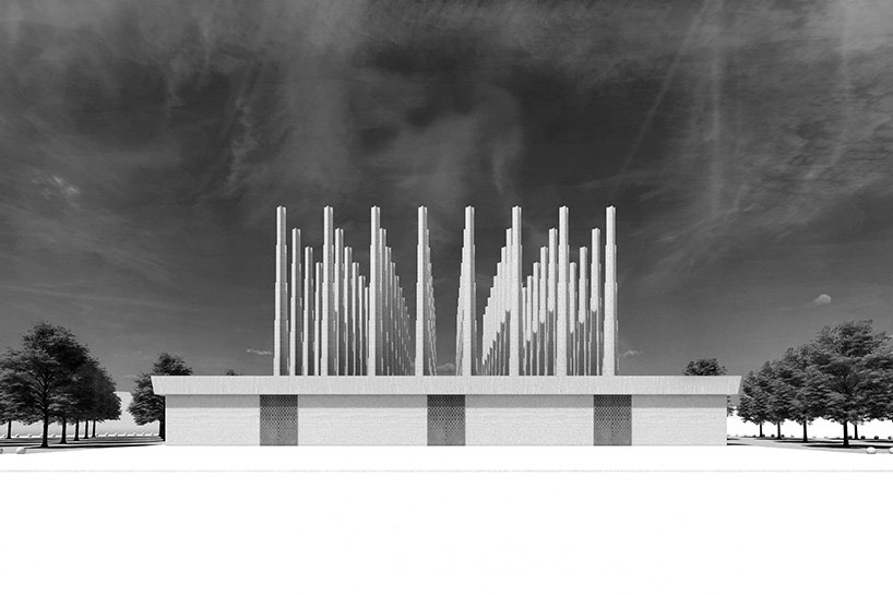 Mémorial des martyrs de David Adjaye
