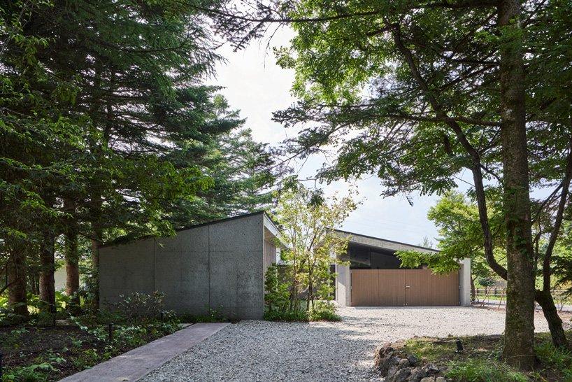 Vue extérieure des deux bâtiments de la `` maison symbiotique '' par read & architects