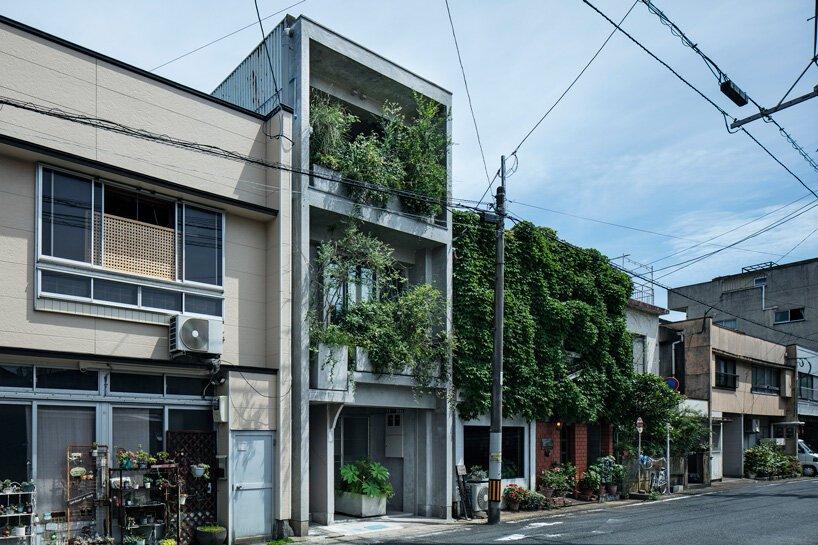 Supposons que le bureau d'études transforme l'ancien bâtiment en béton en 'hôtel sou' au Japon