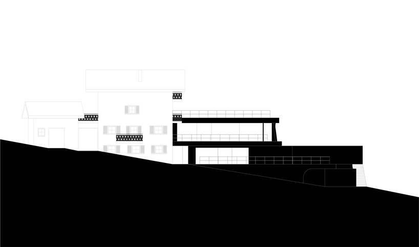 konoA rénove et agrandit la `` maison gasser '' dans le sud du tyrol designboom