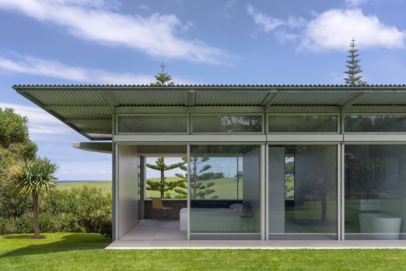 Tobias Partners Garden House Australie designboom