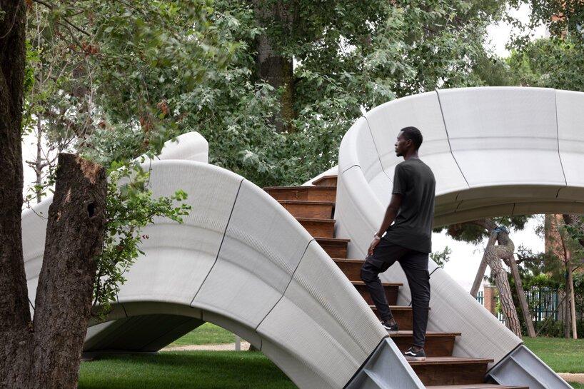 striatus est le premier pont imprimé en 3D construit entièrement sans armature