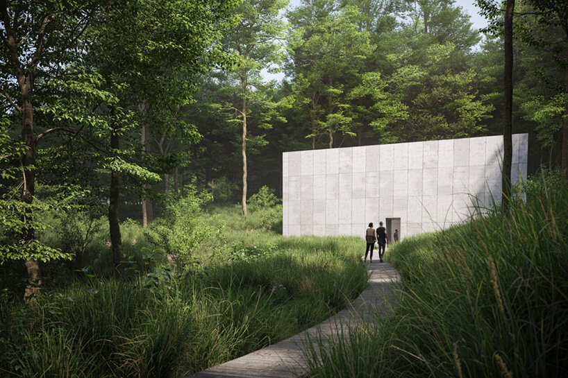 Musée de Glenstone Richard Serra