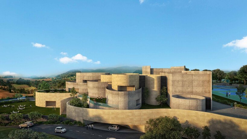 les architectes de sanjay puri conçoivent son complexe sportif « nirvana 63 » avec une sensation de mouvement fluide