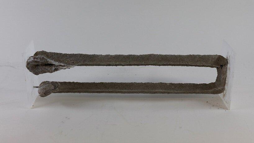 la nouvelle méthode d'impression de béton 3D par injection construit des structures plus complexes